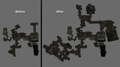 snapshot of before and after maps in CK
