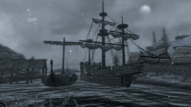 Imperial Ship in Dawnstar
