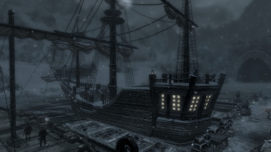 Imperial Ship in Windhelm