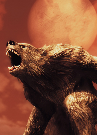Werebear - Screenshot by Fiszi