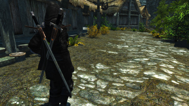 Sword of Truth Dual Sheathed