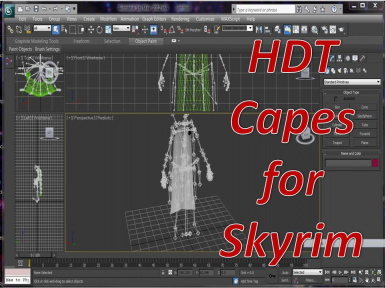 Capes with HDT physics at Skyrim Nexus - mods and community