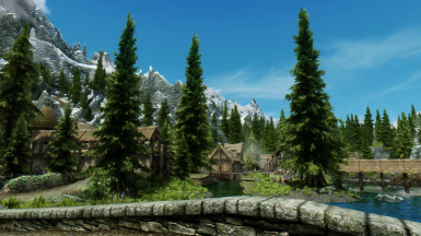 DynDOLOD + Enhanced Vanilla Trees - Ultra trees