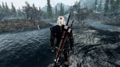 New Witcher Swords - Back View