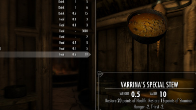 Varrina's Special Stew