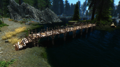 Lake Ilinalta fisherman bridge update