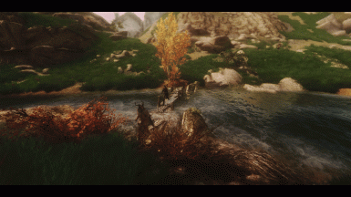 Towards Darkfall Cave 7 ENB Grimm and Somber