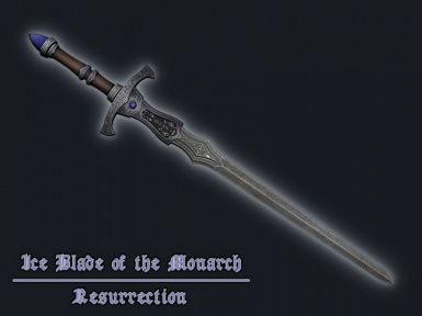 Ice Blade of the Monarch Resurrection