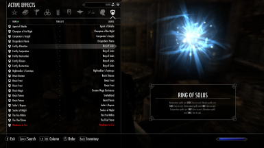Ring of Solus No Spell Cost at Skyrim Nexus mods and munity