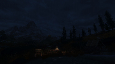 Whiterun Night
