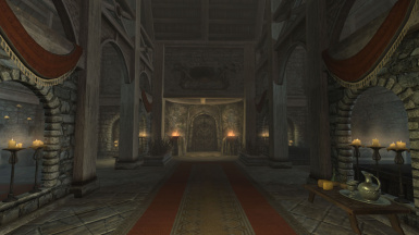 Whiterun Hall of the Dead Expansion
