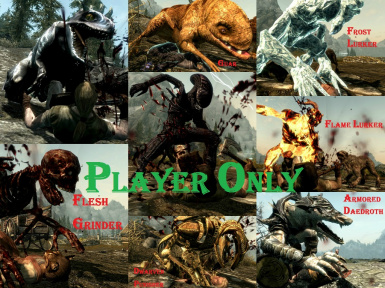 Werewolf Replacers Player Only