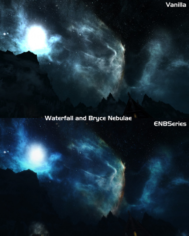 Waterfall and Bryce Nebulae - optional