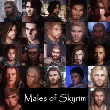 Males of Skyrim