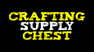 Skyrim Crafting Supplies Chest