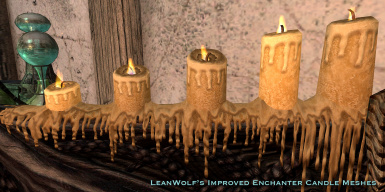LeanWolf Improved Enchanter Candle Meshes