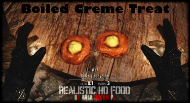 Boiled Creme Treat