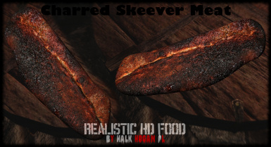 Charred Skeever Meat in Inventory