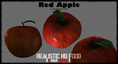 Red Apple in Creation Kit
