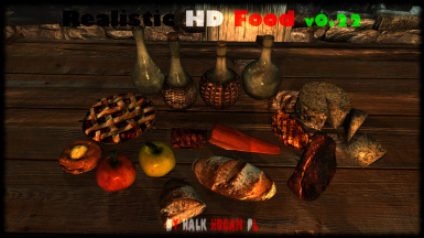 Realistic HD Food v022 Preview NO ENB