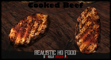 Cooked Beef in Inventory