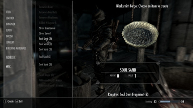 Soul Gem Crafting Recipes