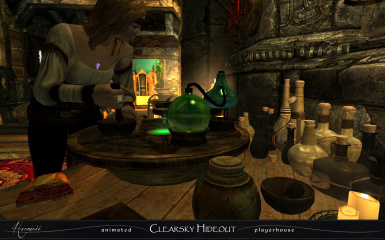 Followers craft their own potions
