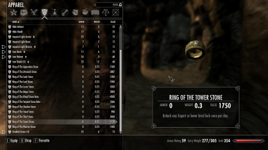 The Rings of Guardian Stones at Skyrim Nexus mods and munity