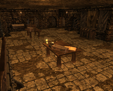 Guild Master's Armory - ultimate storage room in the Ragged Flagon