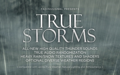 True Storms - Thunder and Rain Redone