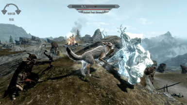 VS an Ancient Frost Atronach