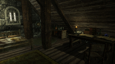 Apothecary Bedroom