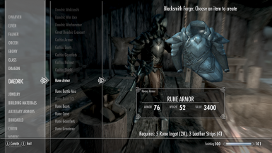 Rune Weapons and Armor at Skyrim Nexus - mods and community