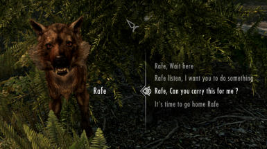 Rafe the Wolf Follower