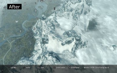 A clear world map with clouds at skyrim nexus mods and community 5 items gumiabroncs Choice Image