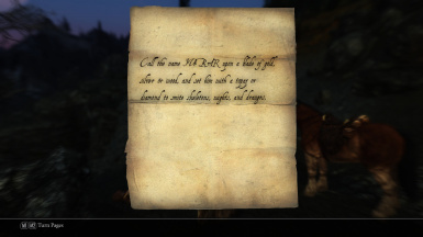 An enchantment recipe-DL Touch of Death mod for a lovely topaz sword