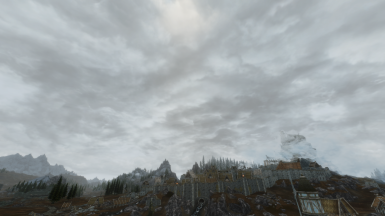Skyrim Immersive Cloudy Cloud District
