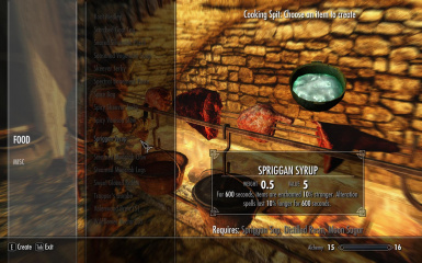 Alchemical Cooking Recipes At Skyrim Nexus Mods And Community