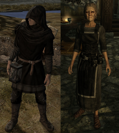 Nord Mourning Clothes