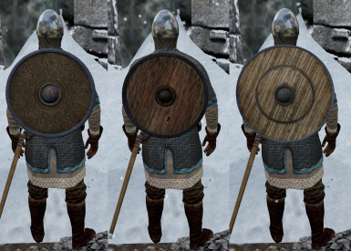Hide-Iron-Steel shield replacers by TheMalfazar