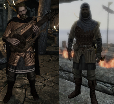 Skald and Redguard