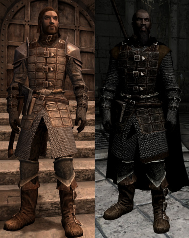 Dawnguard heavy armor by Defunct and Croc