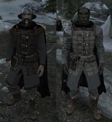 Dawnguard heavy armor by Croc and Defunct