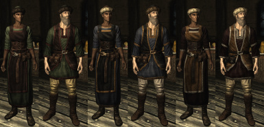Nord merchant variants from Romanov Couture