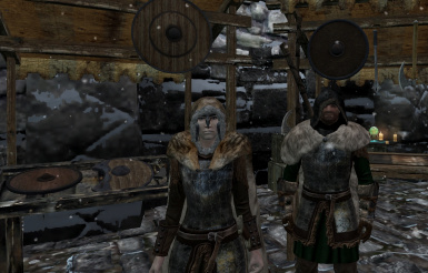 Vanilla shield replacers by TheMalfazar