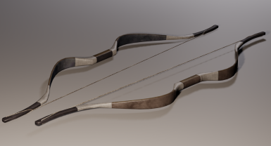 Ebony Bow Render - Alternate Texture