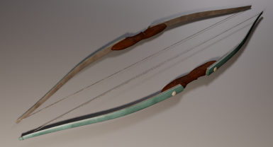Glass Bow Render