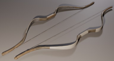 Ebony Bow Render
