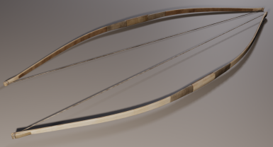 Hunting Bow Render