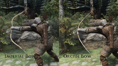 Imperial Bow and Orcish Bow